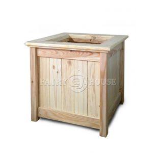 Дерев'яний садовий ящик для рослин та квітів Селеста Д59*Ш59*В56 фото 5