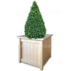 Дерев'яний садовий ящик для рослин та квітів Селеста Д53*Ш53*В49 фото 6