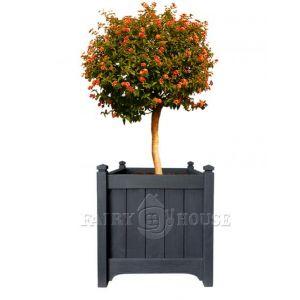 Дерев'яний  КВІТНИК для рослин та квітів Версаль Д63*Ш63*В70 фото 2