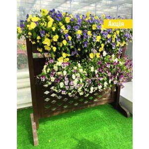 Цветник-забор фото 2