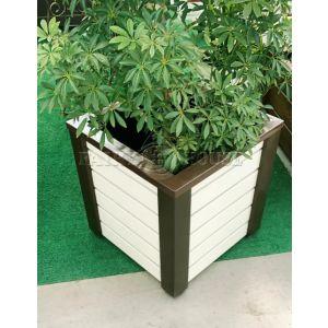 Дерев'яний ящик для рослин та квітів Амалія-2  Д48,5*Ш48,5*В49 фото 1
