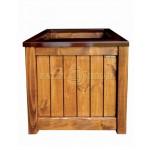 Дерев'яний ящик для рослин та квітів Марго Д48*Ш48*В48 фото 2