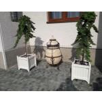 Дерев'яний  КВІТНИК для рослин та квітів Версаль Д63*Ш63*В70 фото 11