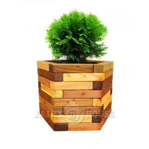 Дерев'яний вазон «Савойя» фото 1