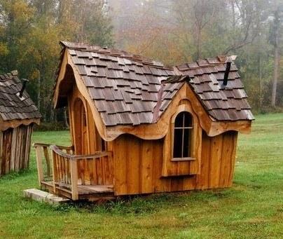 Детские домики – место для грез