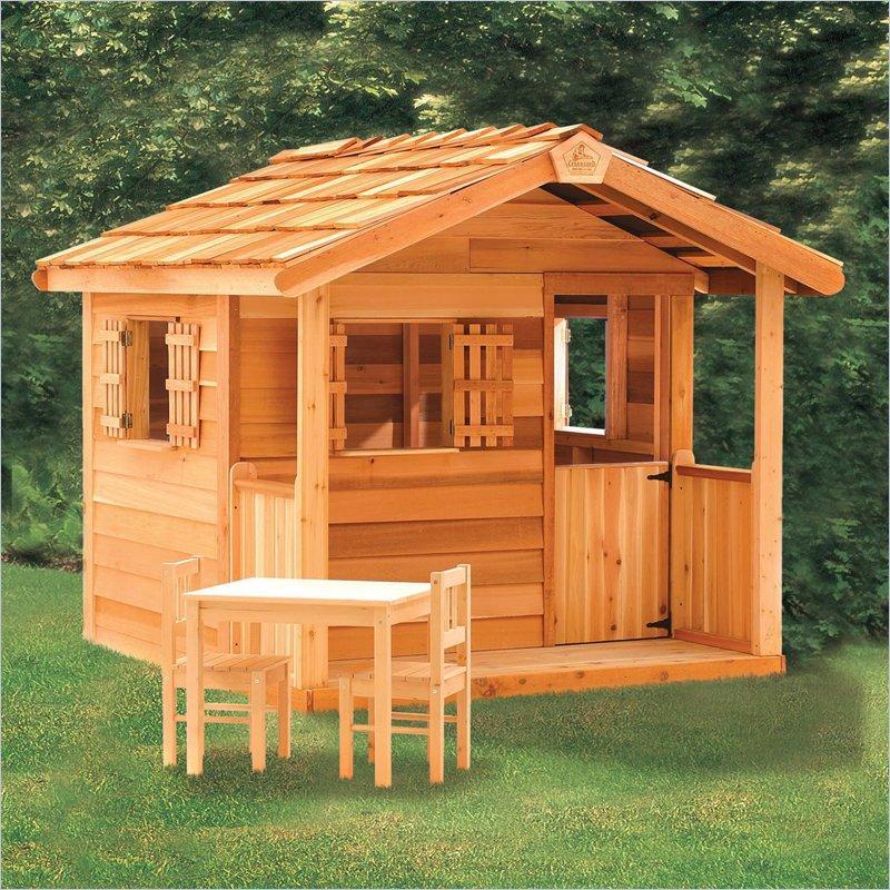 Деревянный домик: что в нем может быть?