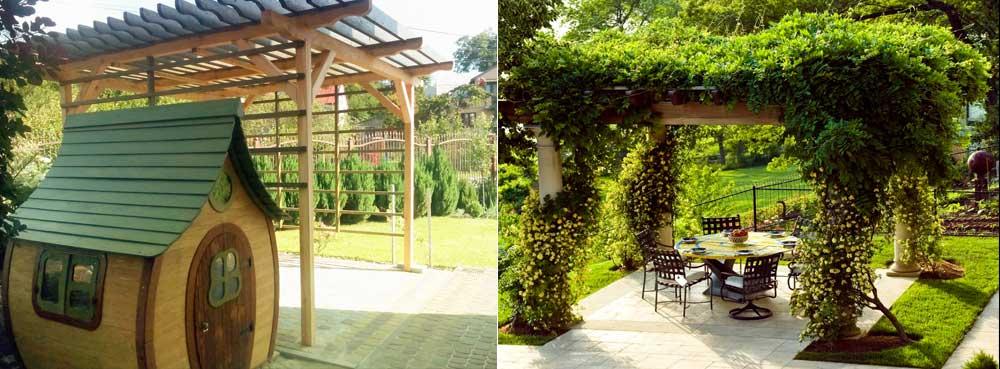 Садові меблі та конструкції фото 2