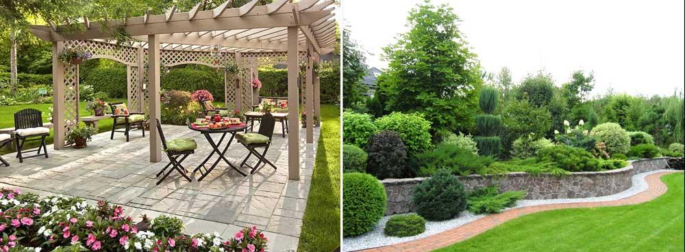 Садовая мебель и конструкции фото