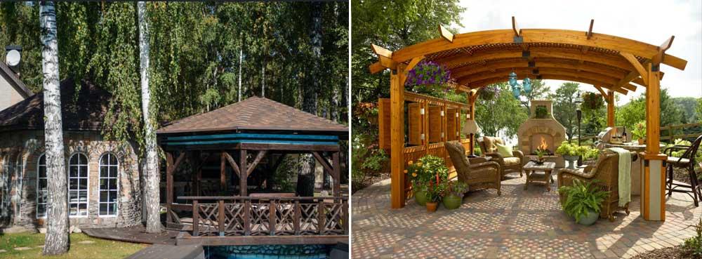Садові меблі та конструкції фото 3